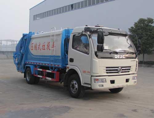 东风多利卡8立方压缩式垃圾车